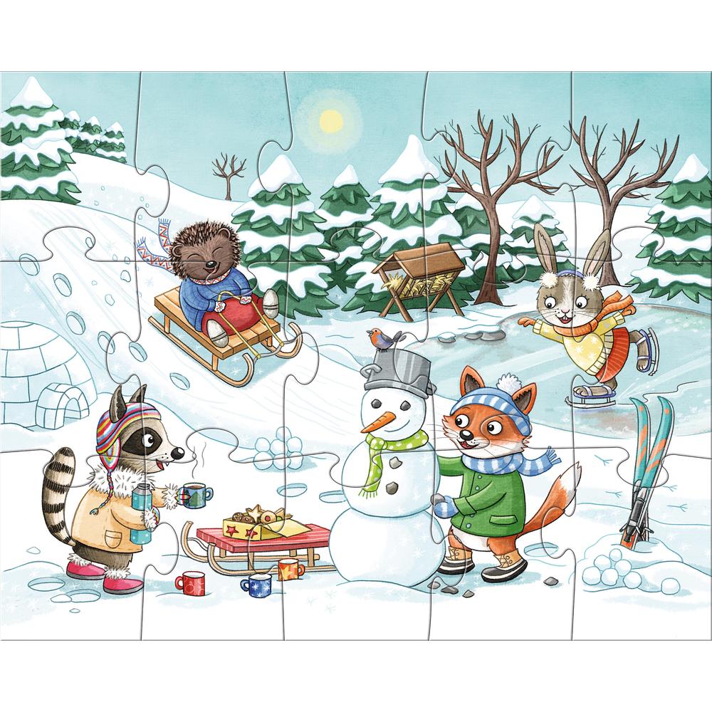 puzzle iarna