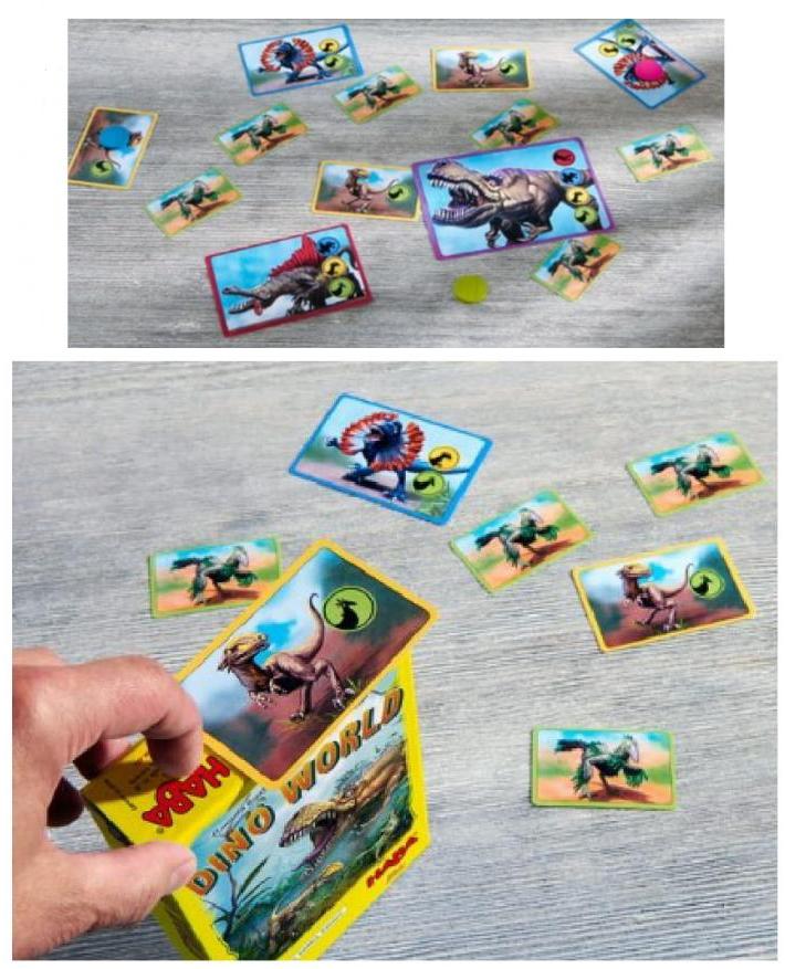 joc cu dinozauri