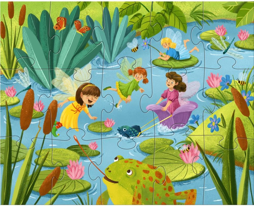puzzle cu sclipici