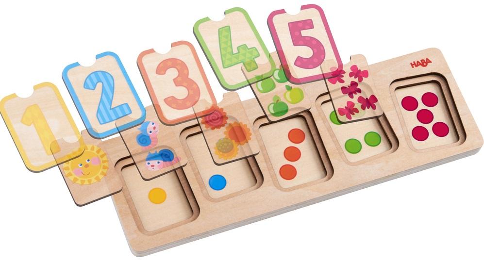 puzzle cu numere si cantitate